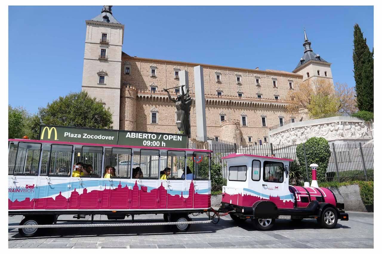 Alcazar Toledo Tren Turistico